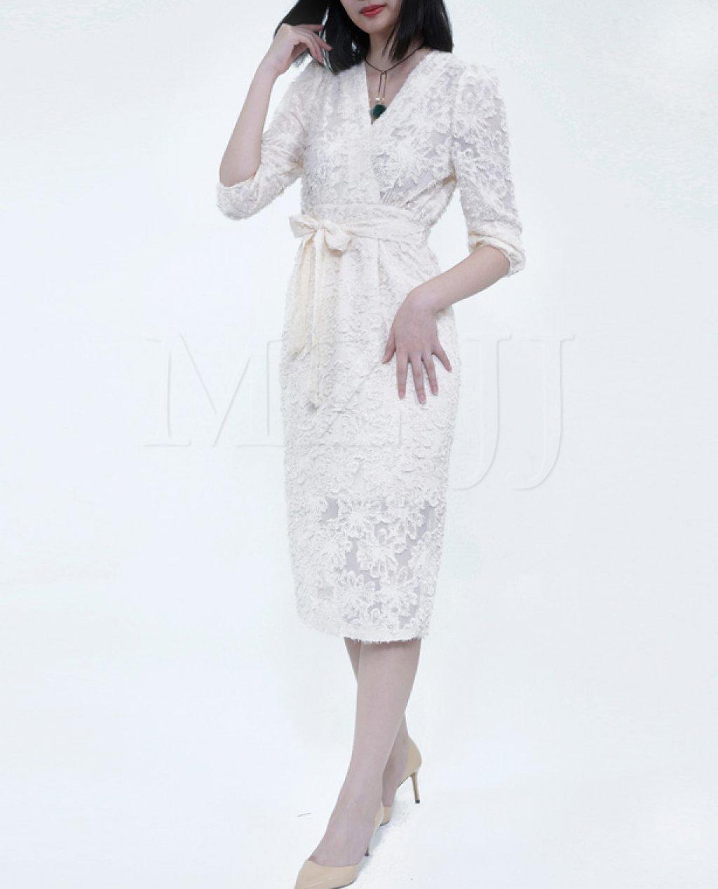 OP12770WH Dress
