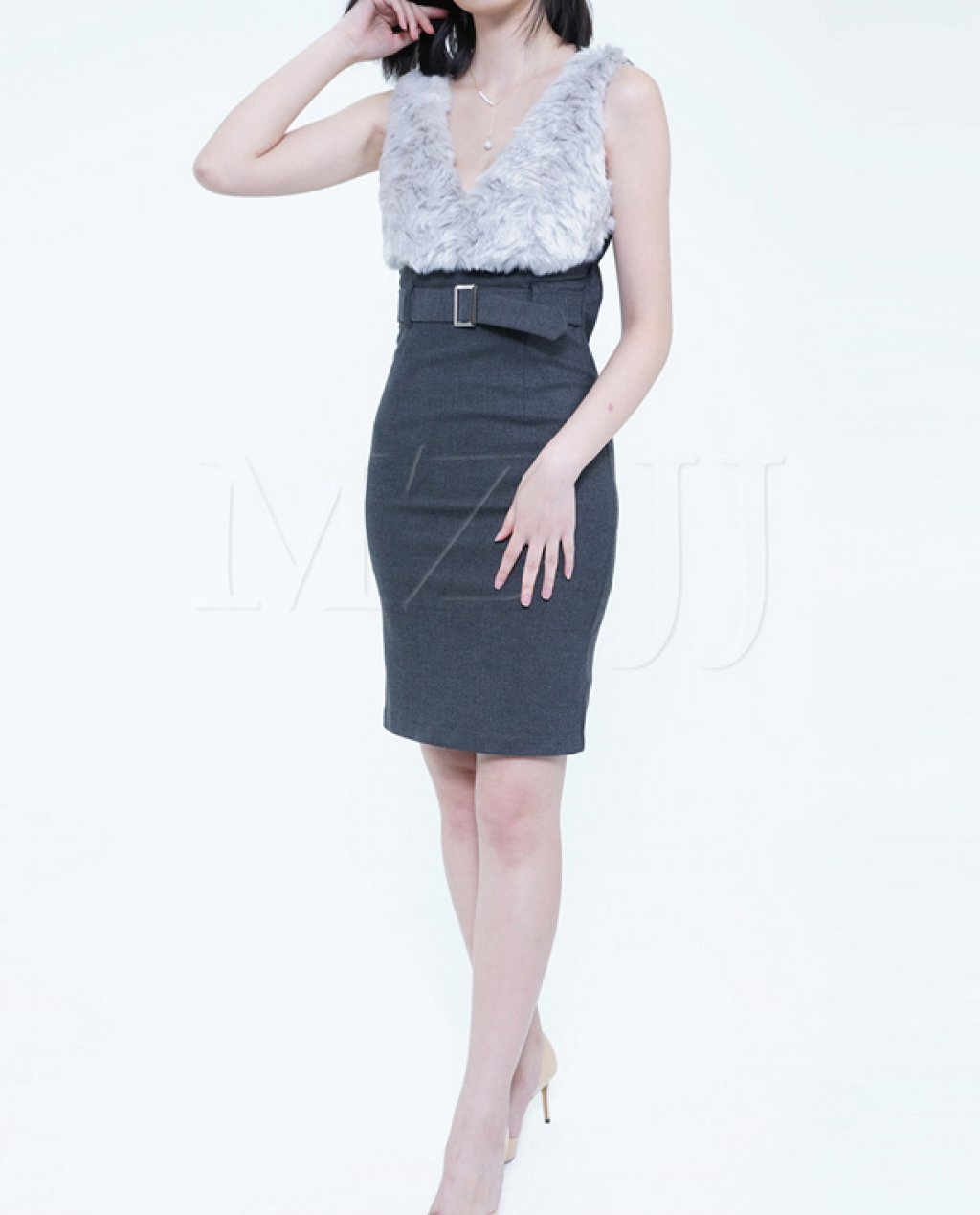 OP12775LGY Dress