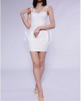 OP12376WH Dress