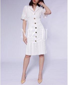 OP12391WH Dress