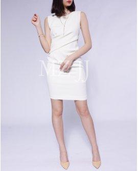 OP12393WH Dress