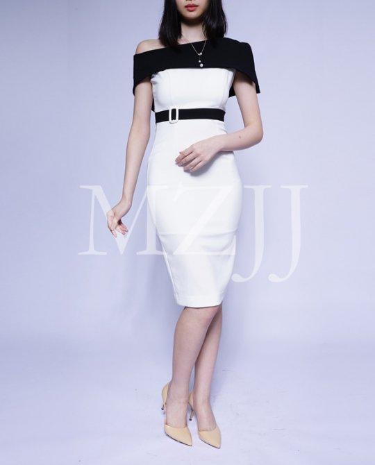 OP12461WH Dress
