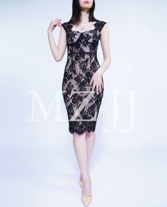 OP12495BK Dress