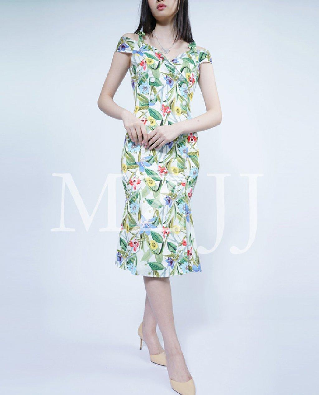 OP12493WH Dress