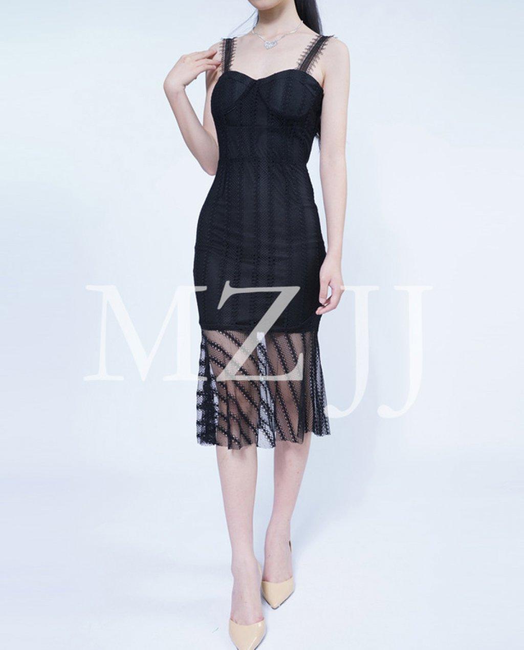 OP12494BK Dress