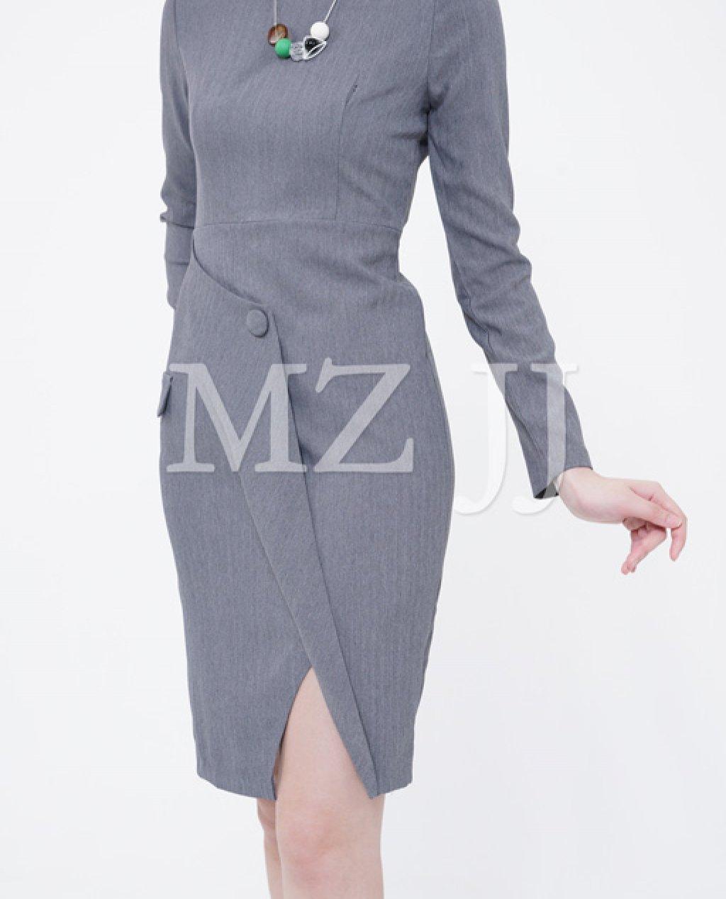 OP13159LGY Dress