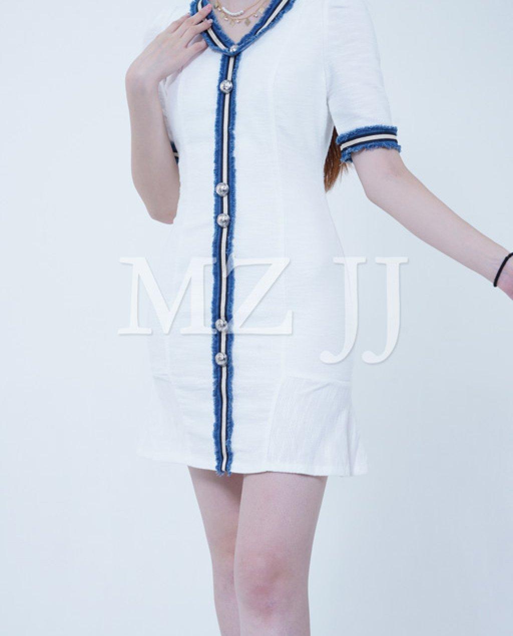 OP13172WH Dress