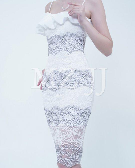 OP13317WH Dress