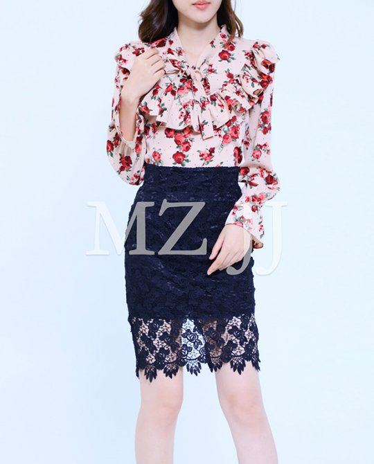 BL10613BE Blouse