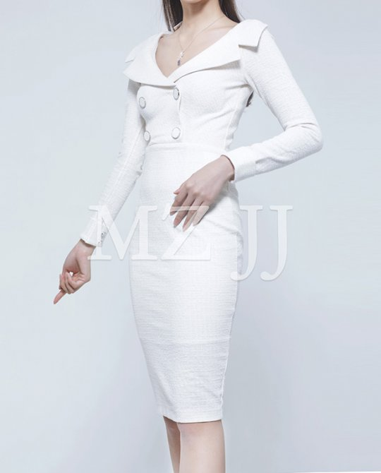 OP13401WH Dress