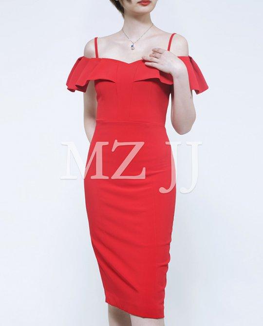 OP13403RD Dress