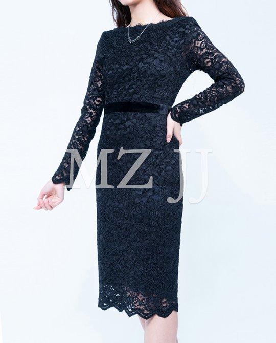 OP13435BK Dress