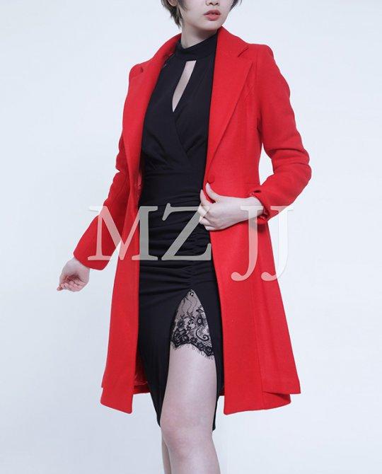 CT10212RD Coat