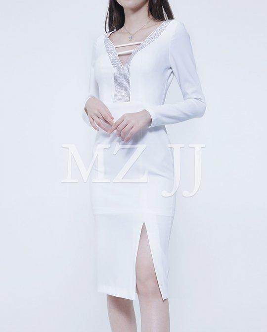 OP13451WH Dress