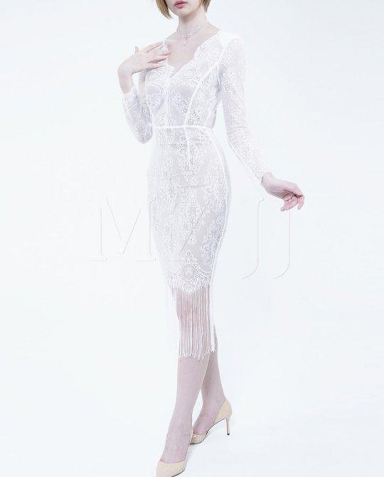 OP12802WH Dress