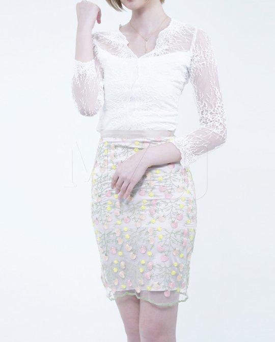 SK10754LGY Skirt