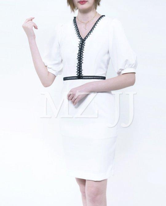 OP12891WH Dress