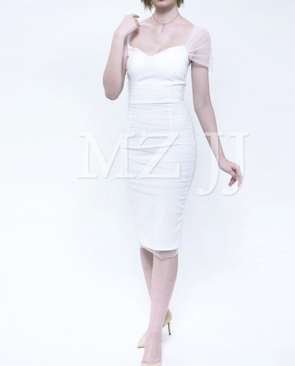 OP12853WH Dress