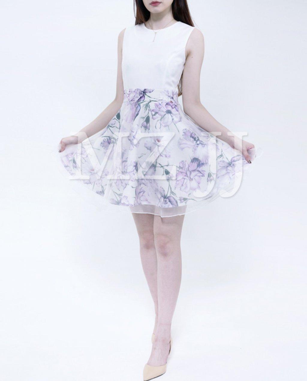 OP12876PU Dress