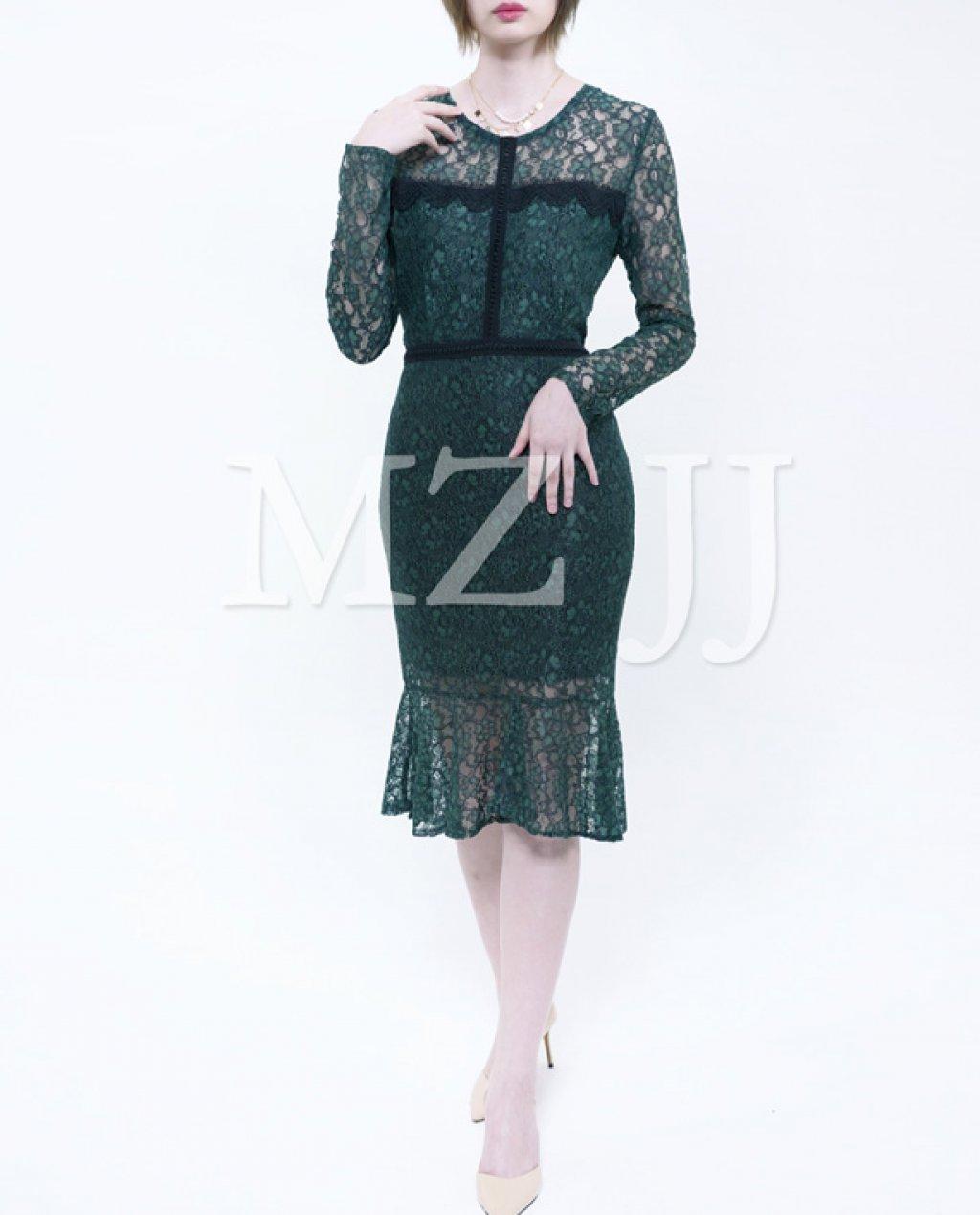 OP12890GN Dress