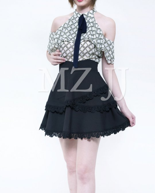 SK10758BK Skirt