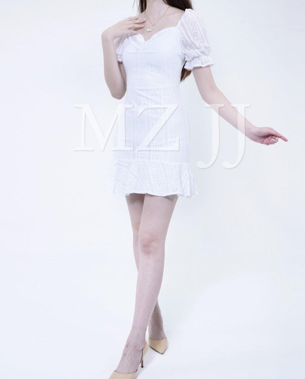 OP13031WH Dress