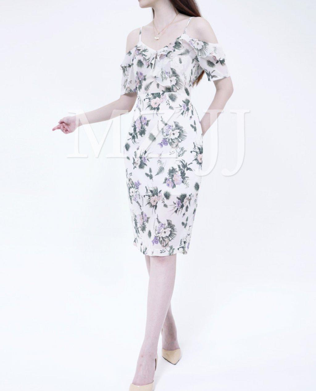 OP13040WH Dress