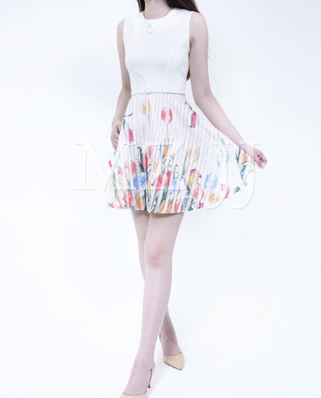 OP13044WH Dress