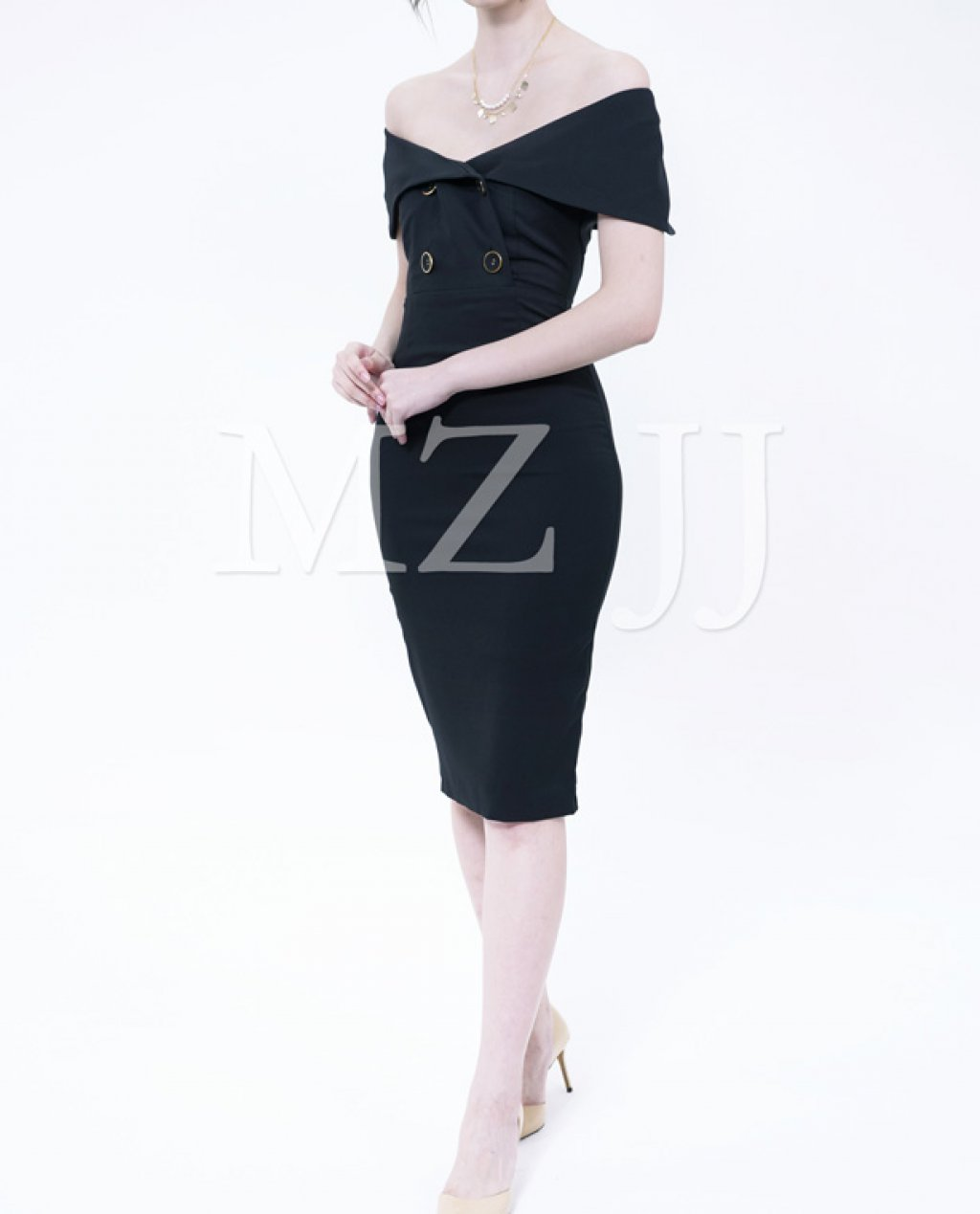 OP13046BK Dress