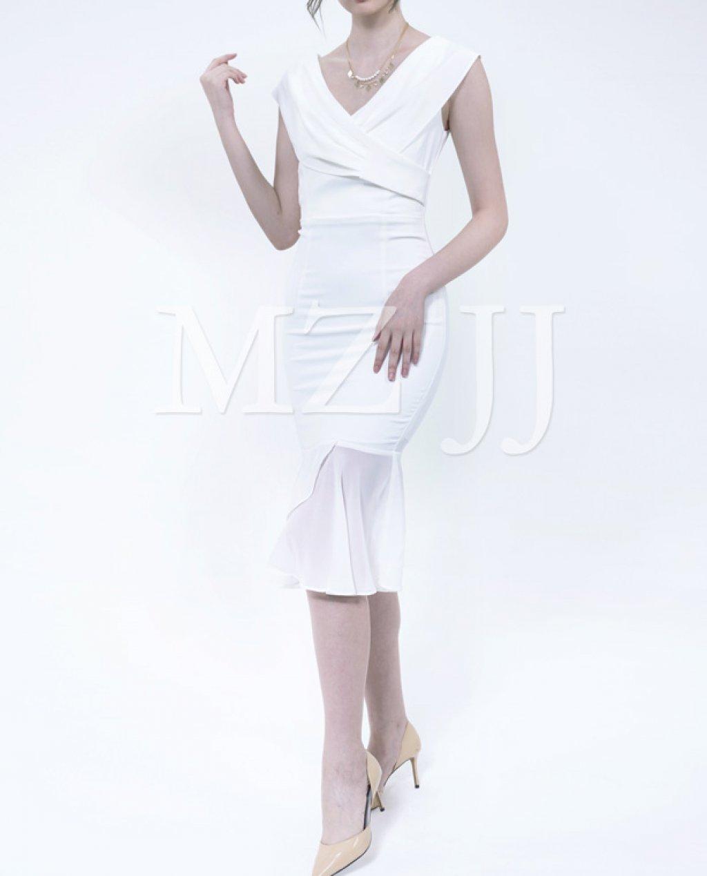 OP13051WH Dress