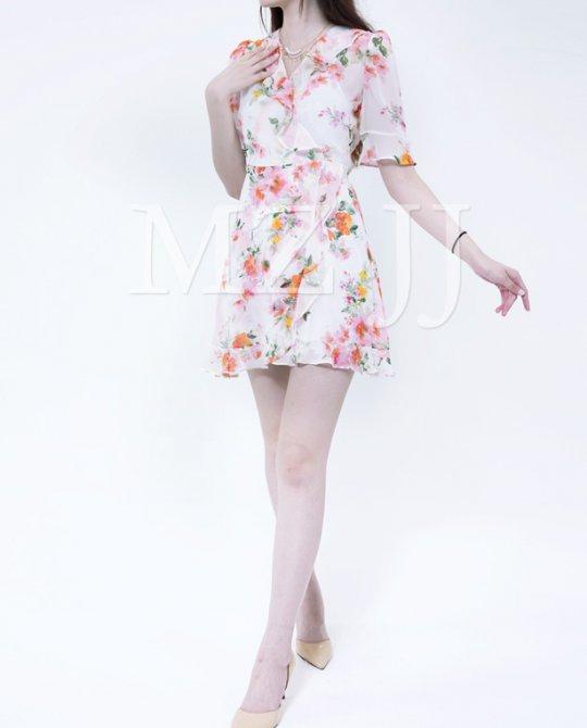 OP13057WH Dress