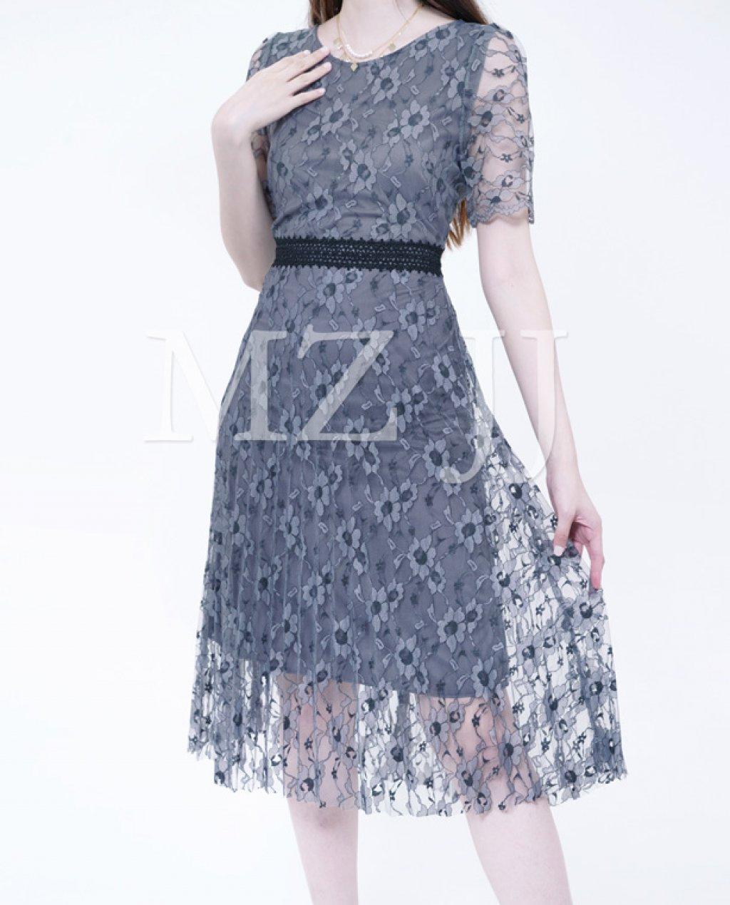 OP13060LGY Dress