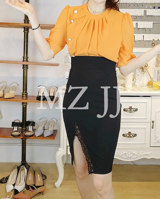 BL10769OR Blouse