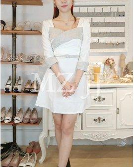 OP14008LGY Dress