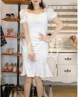 OP14022WH Dress
