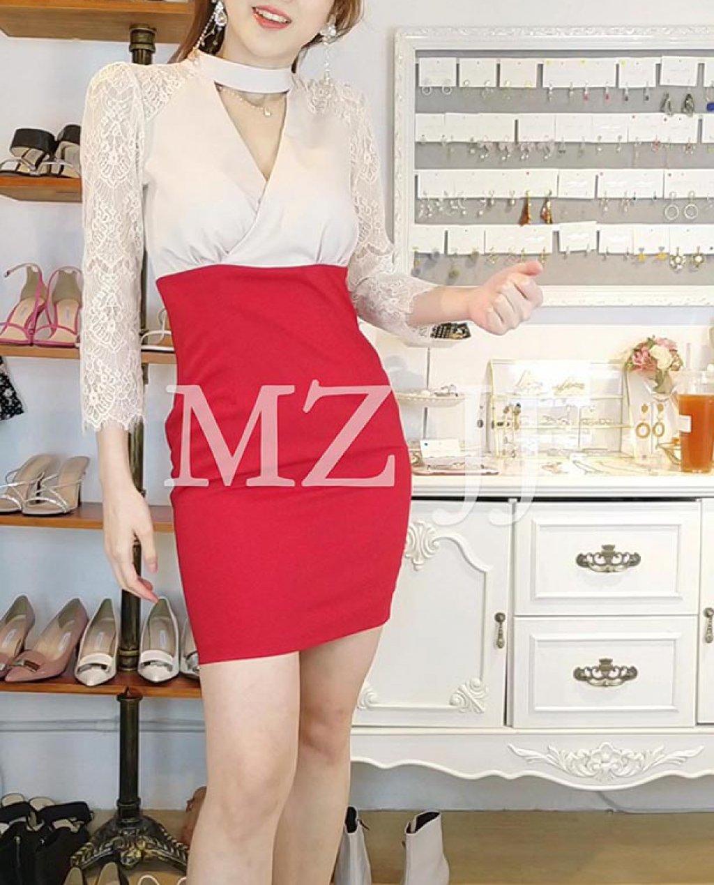 OP14028RD Dress
