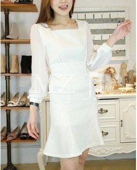 OP14036WH Dress