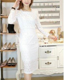 OP14045WH Dress