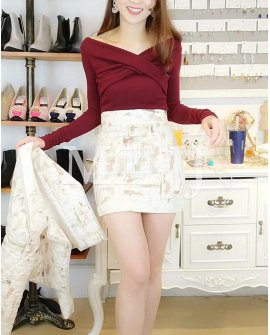 SK11301OR Skirt
