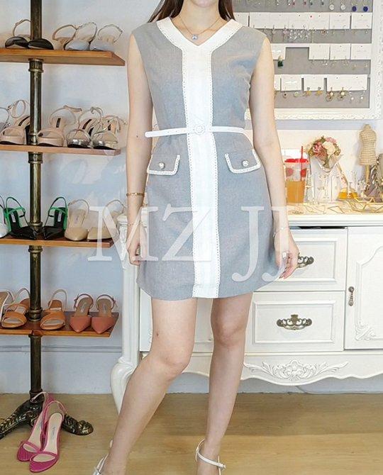 OP13896LGY Dress
