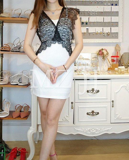 OP13903WH Dress