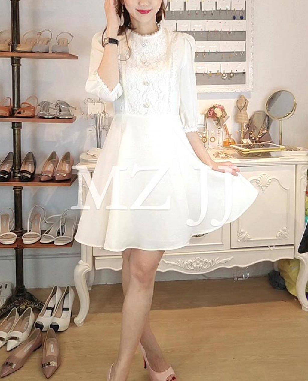 OP14001WH Dress