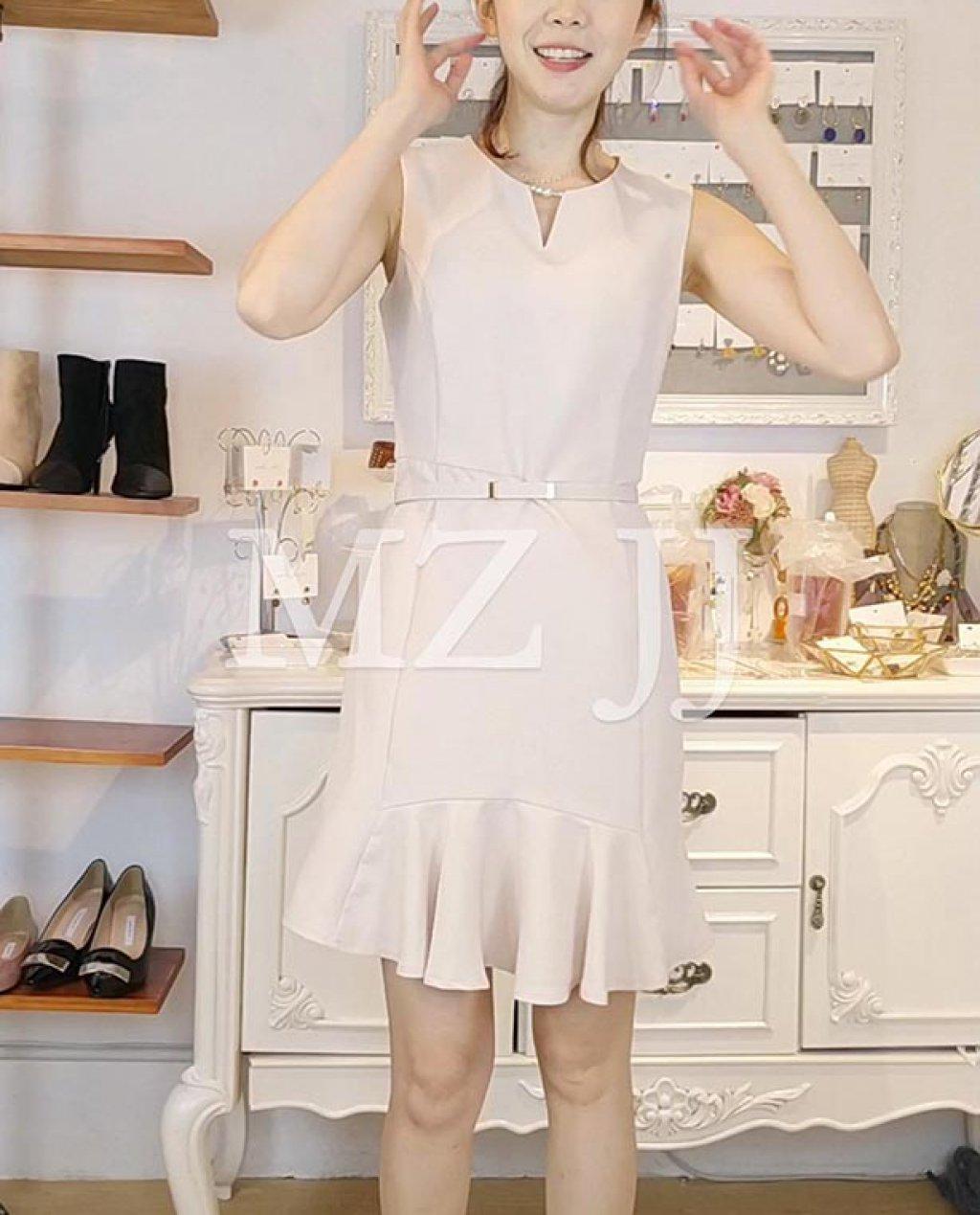 OP14030WH Dress