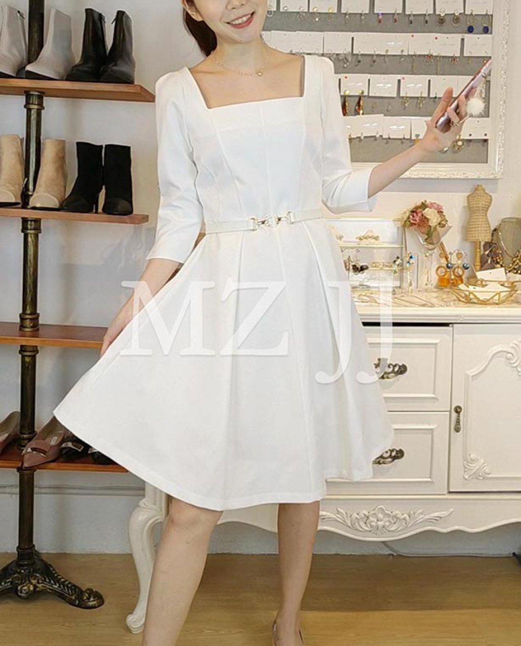 OP14033WH Dress