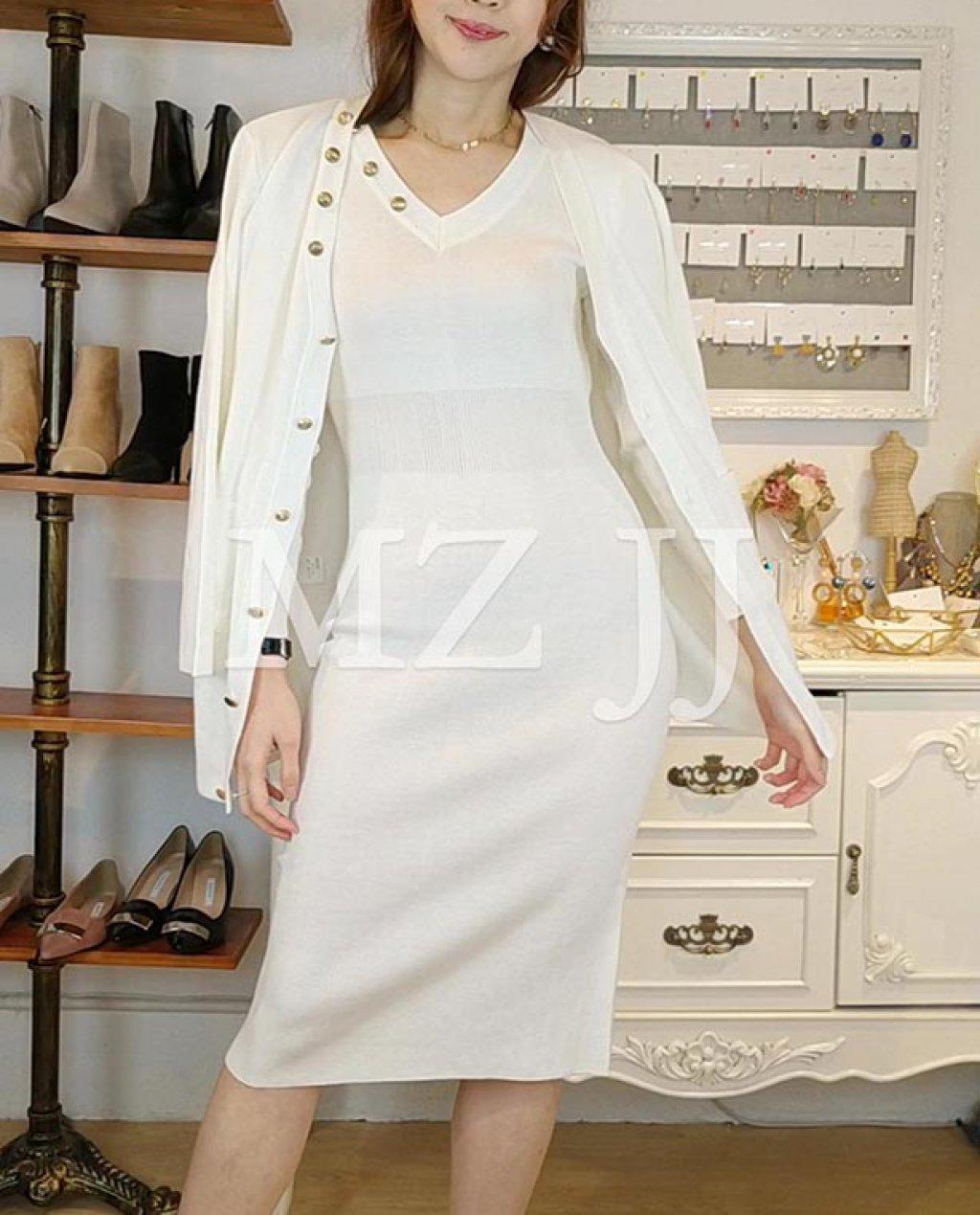 OP14035WH Dress