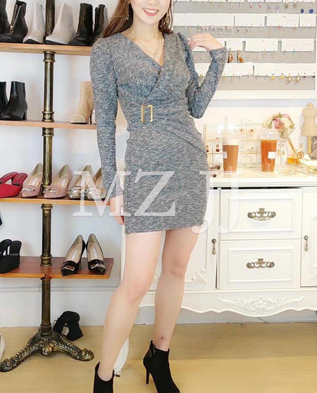 OP14071LGY Dress