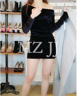OP14104BK Dress