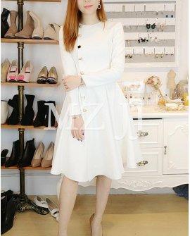 OP14149WH Dress