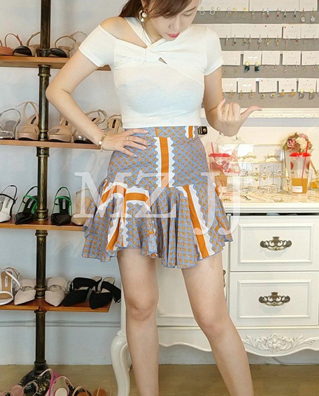 SK11127OR Skirt