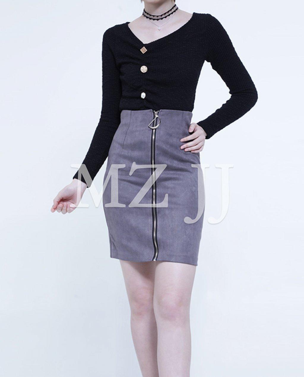 SK10972LGY Skirt